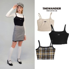 [THE WANDER] RIB BUSTIER 3COLOR