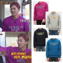 [PLAC] MENS FRONT PRINT SWEATSHIRTS 4COLOR_WINNER