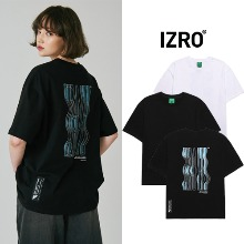 [IZRO] BUBBLE LOGO T SHIRT 2COLOR