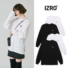 [IZRO] HEART LOGO LONG SLEEVE 4COLOR