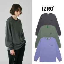 [IZRO] PIGMENT LONG SLEEVE 3COLOR