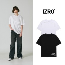 [IZRO] RECYCLE T SHIRT 2COLOR